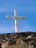 крест christ Стоковая Фотография