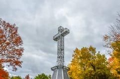 Крест Mont королевский в Монреале Стоковое Изображение