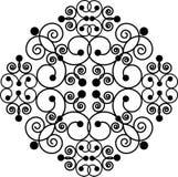 крест swirly Стоковое Фото