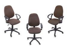 3 кресла офиса Стоковая Фотография RF