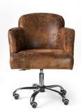 Кресло дела кожи Брайна Стоковые Изображения