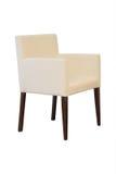 Кресло изолированное на белой предпосылке Стоковая Фотография RF