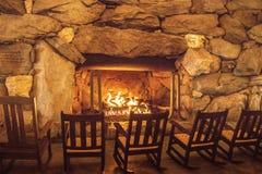 Кресло-качалки огнем Стоковые Фото