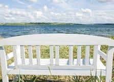 Кресло морем Стоковые Фото
