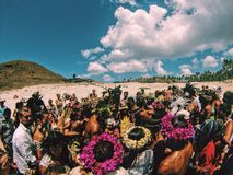 Крещение на восточном острове Стоковое фото RF