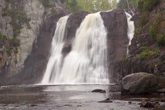 крещение понижается высокое река Стоковое Фото