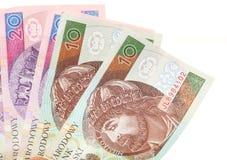 Кредитка заполированности денег финансов на белизне Стоковая Фотография RF