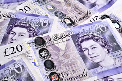 кредитки Великобритания Стоковые Изображения RF