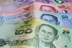 кредитки тайские Стоковое Изображение
