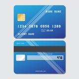 Кредитная карточка вектора Стоковая Фотография