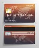 Кредитная карточка Стоковая Фотография RF