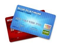 2 кредитной карточки Стоковое Изображение