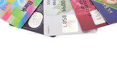 Кредитные карточки Стоковое фото RF
