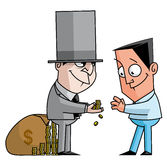 Кредитный банк Стоковое Изображение RF