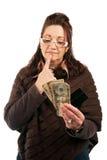 кредит в наличной форме Стоковая Фотография