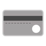 кредит или значок кредитной карточки иллюстрация вектора