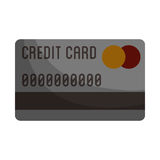 Кредит или изображение значка кредитной карточки иллюстрация штока
