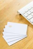 кредит пустой карточки Стоковая Фотография