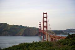 Кривая взгляда моста золотого строба к Marin County Стоковое Изображение