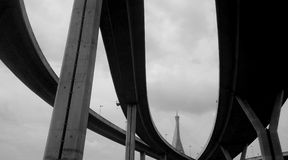 Кривая моста Стоковые Фотографии RF