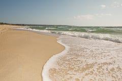 Кривая ломая волны Стоковые Изображения RF