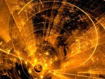 Кривые фрактали - изображение конспекта цифров произведенное бесплатная иллюстрация