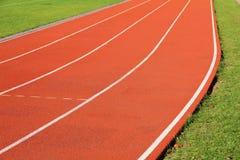 Кривый идущего следа Стоковая Фотография