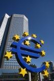 Кризисы евро Стоковое Изображение RF