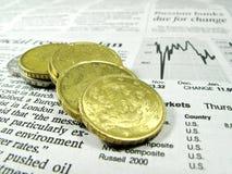 кризис финансовохозяйственный Стоковое Изображение RF