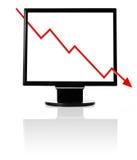 кризис хозяйственный Стоковые Изображения RF