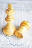 кризис экономичный Стоковое Изображение