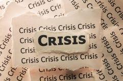 кризис Стоковая Фотография RF