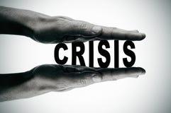 Кризис Стоковое Фото