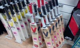 Крикетные биты Стоковая Фотография RF