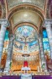 Крипта священной церков сердца, Барселона, Каталония, Испания Стоковое Изображение RF