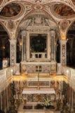 Крипта Собор, Salerno Италия стоковое фото