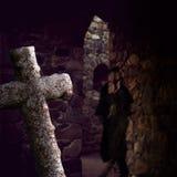 Крипта с призраком стоковые фото