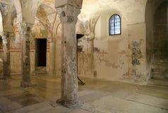 Крипта di Santa Maria Assunta базилики стоковые изображения rf