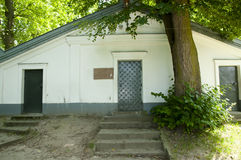 Крипта Elimelech равина - Lezajsk - Польша стоковое фото
