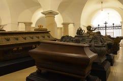 Крипта Hohenzollern в соборе Берлина стоковые фотографии rf
