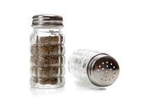 кристаллическая белизна трасучки соли перца Стоковые Фото