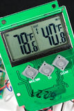 кристаллическая жидкость lcd дисплея Стоковое фото RF