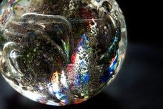 кристаллическая накаляя сфера стоковая фотография rf