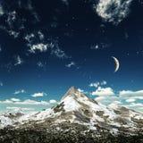кристаллическая ноча Стоковые Фотографии RF