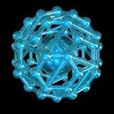 кристаллическая решетка Стоковое Изображение