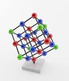 кристаллическая структура Стоковая Фотография RF