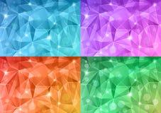 Кристаллическая текстура. Стоковое Изображение