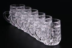 кристаллические кружки Стоковые Фото