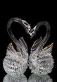 кристаллические лебеди Стоковые Изображения RF