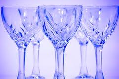 кристаллические стекла Стоковые Изображения